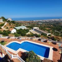 Paradise Sea Views Terrace & Pool in Mirador de Mijas