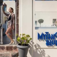 Mythical Blue Luxury Suites, hôtel à Fira