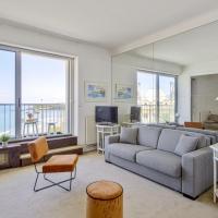 Studio w balcony and breathtaking view of Grand Plage Biarritz Welkeys