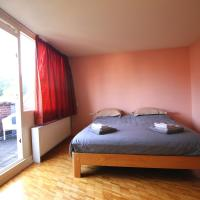 2 rooms for 4 people+free parking