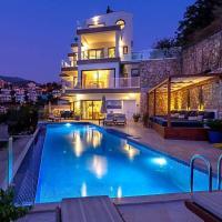 Kalkan Villa Sleeps 8 Pool Air Con WiFi