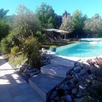 l'eden d'ètè au Mazier des 3ifs piscine de 11 par 4m chauffée