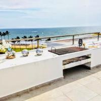 Penthouse con alberca privada a pie de playa