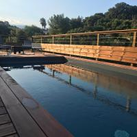 Between the Mountains and the Sea Villa w pool, hotel near Ajaccio – Napoléon Bonaparte Airport - AJA, Cauro
