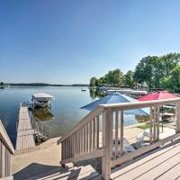 Lake George Cottage with Dock, Fire Pit and Kayaks, отель в городе Fremont