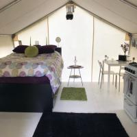 Vines and Puppies Glamping Hideaway