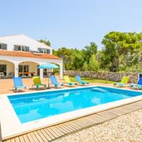 Cala Galdana Villa Sleeps 8 with Pool Air Con and WiFi
