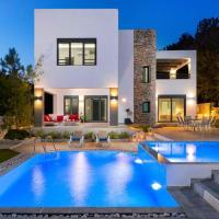 Lardos Villa Sleeps 7 with Pool Air Con and WiFi