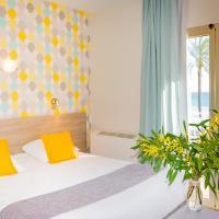 Hotel et Appartements Reine D'Azur、ロクブリュヌ・カップ・マルタンのホテル