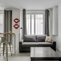 170 Suite ANGOULEME large Duplex style APT with1 BDR Paris Central