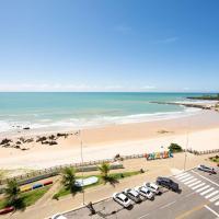 Flat vista mar na praia de Areia Preta - Natal