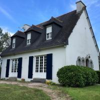 Grande maison de famille avec jardin à proximité du Golf à PLEUMEUR-BODOU Ref 458