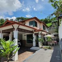 Serene Hillside House