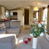 Cosy Kipp, luxury static caravan in Kippford