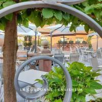 Hotel Restaurant La Couronne、エンシスハイムのホテル