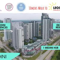 HostaHome Suites @1Medini Residence Near Theme Park