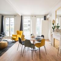 2 BR Appartement Near Tour Eiffel & Trocadéro
