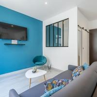 Appart entier avec 1 chambre, 4 personnes max+ internet(FIBRE) / Entire Flat with 1 bedroom, for 4 people max + internet (FIBER OPTIC)