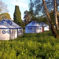Plush Tents Pop Up Yurts Findon