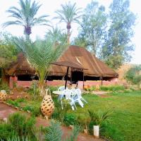 Paradise in the desert of Morocco