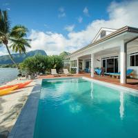 Villa Tepoe Pool and Beach, hotel in Papetoai