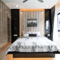 Stylish, High-Floor 2BR Suasana Suites 12, Views