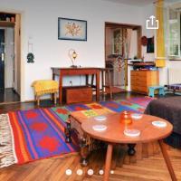 Cozy artistic studio