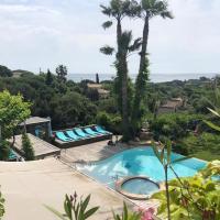 villa Cocoa Saint-Tropez, vue mer , 6 chambres, a 400 m de la plage