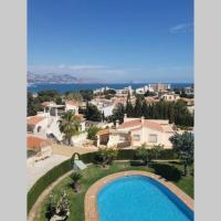 Apartment Albir with fantastic view