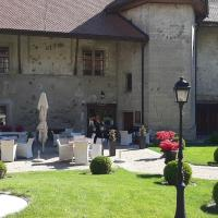 Le château de Vuissens, отель в городе Vuissens