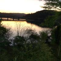 Casa de campo em frente ao Rio Uruguai