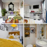 BEST VALUE !!! - The Cakide, Dubell Serviced Apartments Leeds, Up to 2 Guests, Ample Street Parking, Wifi & Netflix