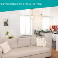Cœur de ville Enghien les Bains - 2 pièces Lumineux et Chaleureux - 15 min de Paris, hotel in Enghien-les-Bains