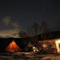 Aurora Camp on viking ground