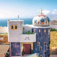 Villa única en Tenerife - Terraza, jardin y vistas al océano
