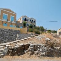 Bright Holiday Home in Symi Island with Balcony