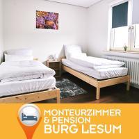 Pension Burglesum Bremen, hôtel à Brême