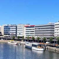 Hotel Stadt Hamburg am Fluss Saarbrücken