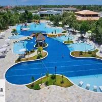 Flat em resort na Barra de São Miguel