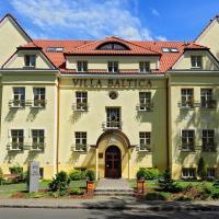 Hotel Villa Baltica, hotel in Karlikowo, Sopot