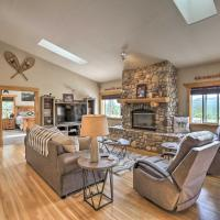 Upscale Mountain-View Manor with Deluxe Deck!