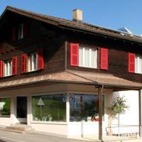 Chalet Lilo 2 Zimmer Wohnung mit Balkon Top Aussicht auf Eiger, Mönch und Jungfrau
