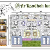 Ar Raudhah Inn Homestay, hotel di Tangkak