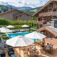 Les Loges Blanches, hôtel à Megève