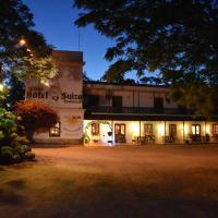 Hotel Suizo、コロニア・スイサのホテル