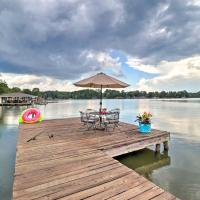 Eatonton Home with Dock & Lake Sinclair Views!