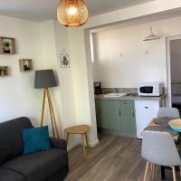Le Moderne, T2, Parking et wifi, hôtel à Thonon-les-Bains