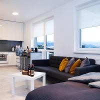Apartment,private parking, balcony, smart check in