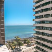 Flat na Beira Mar Vista Lateral Mar