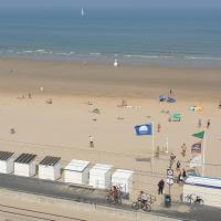 Apartment Raversijde with Seaview, hotel near Ostend - Bruges International Airport - OST, Ostend